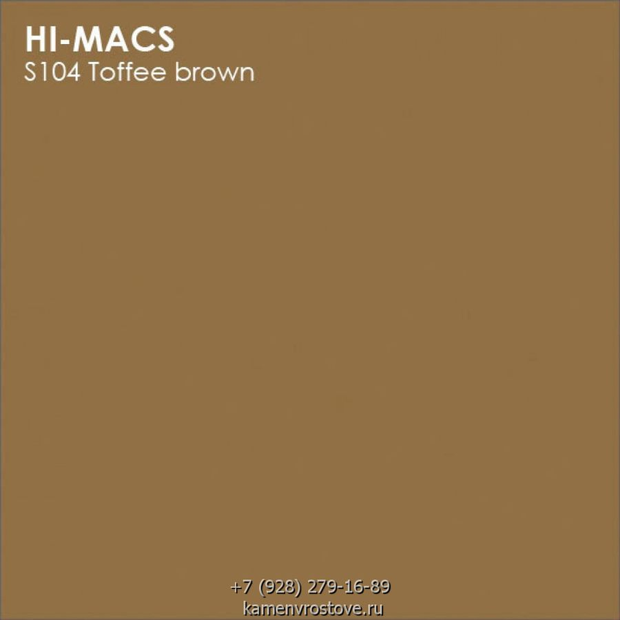 lg hi macs new s104 toffee brown